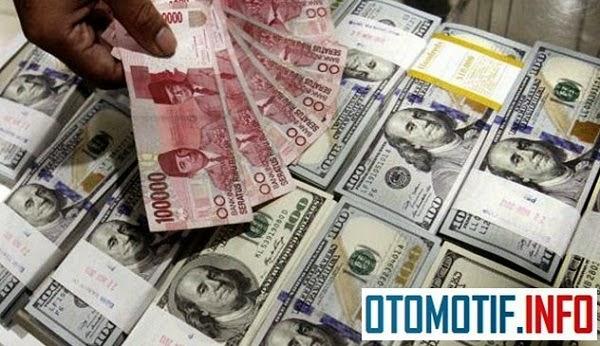 melemahnya nilai ganti Rupiah pada mata uang Dollar Amerika Serikat, otomotif info