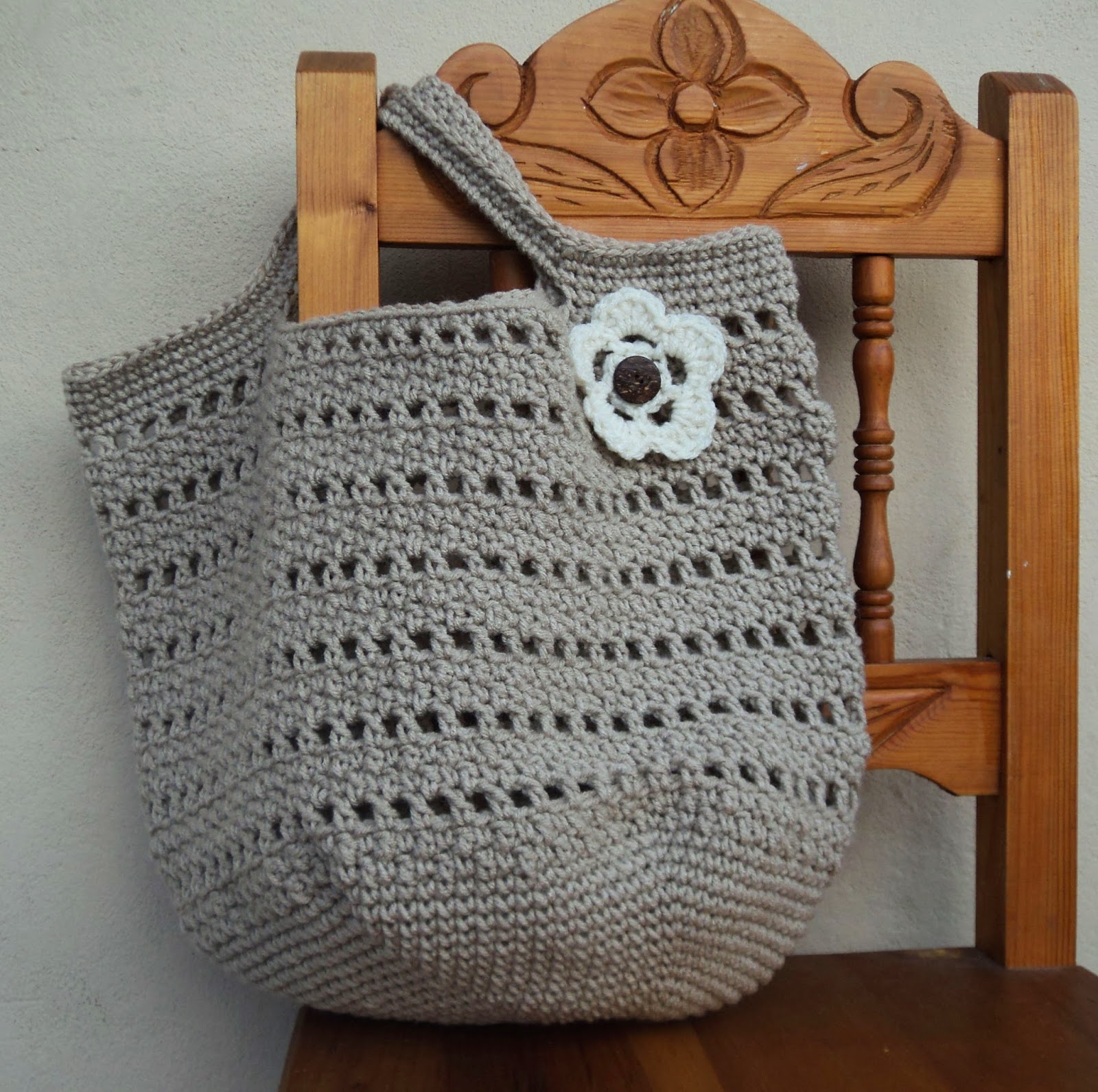 Cute Little Crafts: Crochet Pattern: The perfect market bag
