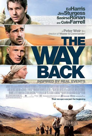 Poster Of The Way Back In Dual Audio Hindi English 300MB Compressed Small Size Pc Movie Free Download Only At cintapk.com