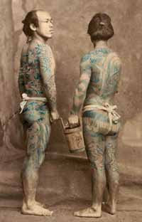 Foto histórica - tatuagem
