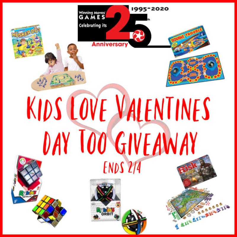 Kids Love Valentine's Day Too Giveaway