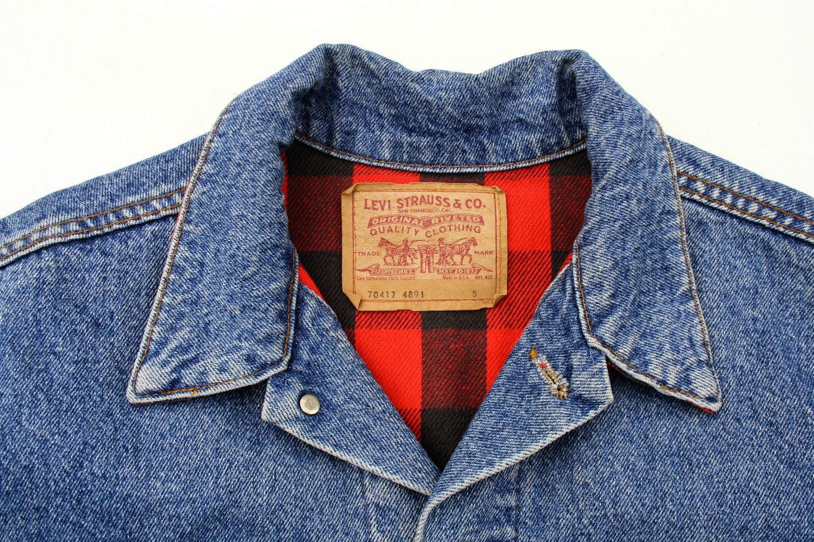 Crónicas Vintage: La mezclilla perenne: Chaqueta Levi's Original de los 80's