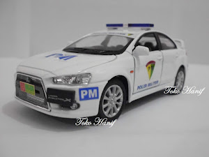 Mobil Lancer Evolution Polisi Militer Indonesia
