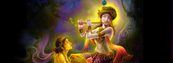 god loard krishna facebook coverpage wallpaper