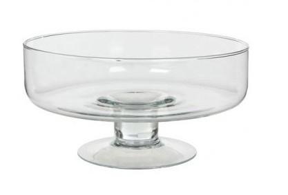 Wedding deco mariage les vases en verres pour d corer la - Grand verre a pied centre de table ...