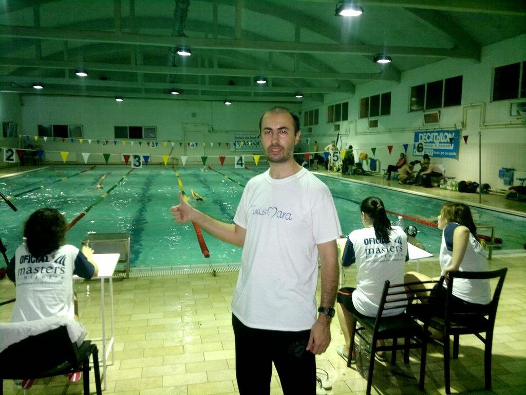Maratonul ca stil de viaţă. Interviu în ziarul Renaşterea Bănăţeană despre recordul de masaj la Maratonul de Înot Masters şi Timotion. Timişoara se mişcă
