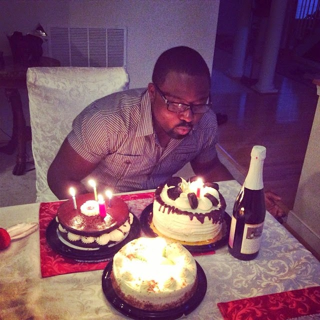 Stella Damasus Throws Daniel Ademinokan A Lovely Birthday Groove – Photos