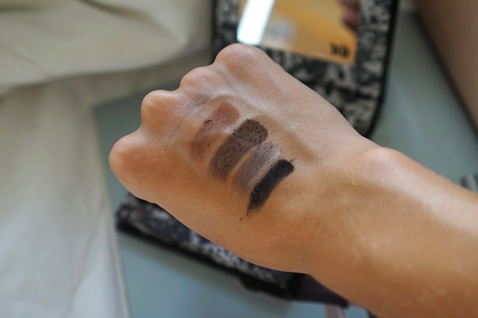 urban decay pulp fiction eye palette swatch