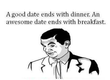 What is Difference in good date and awesome date