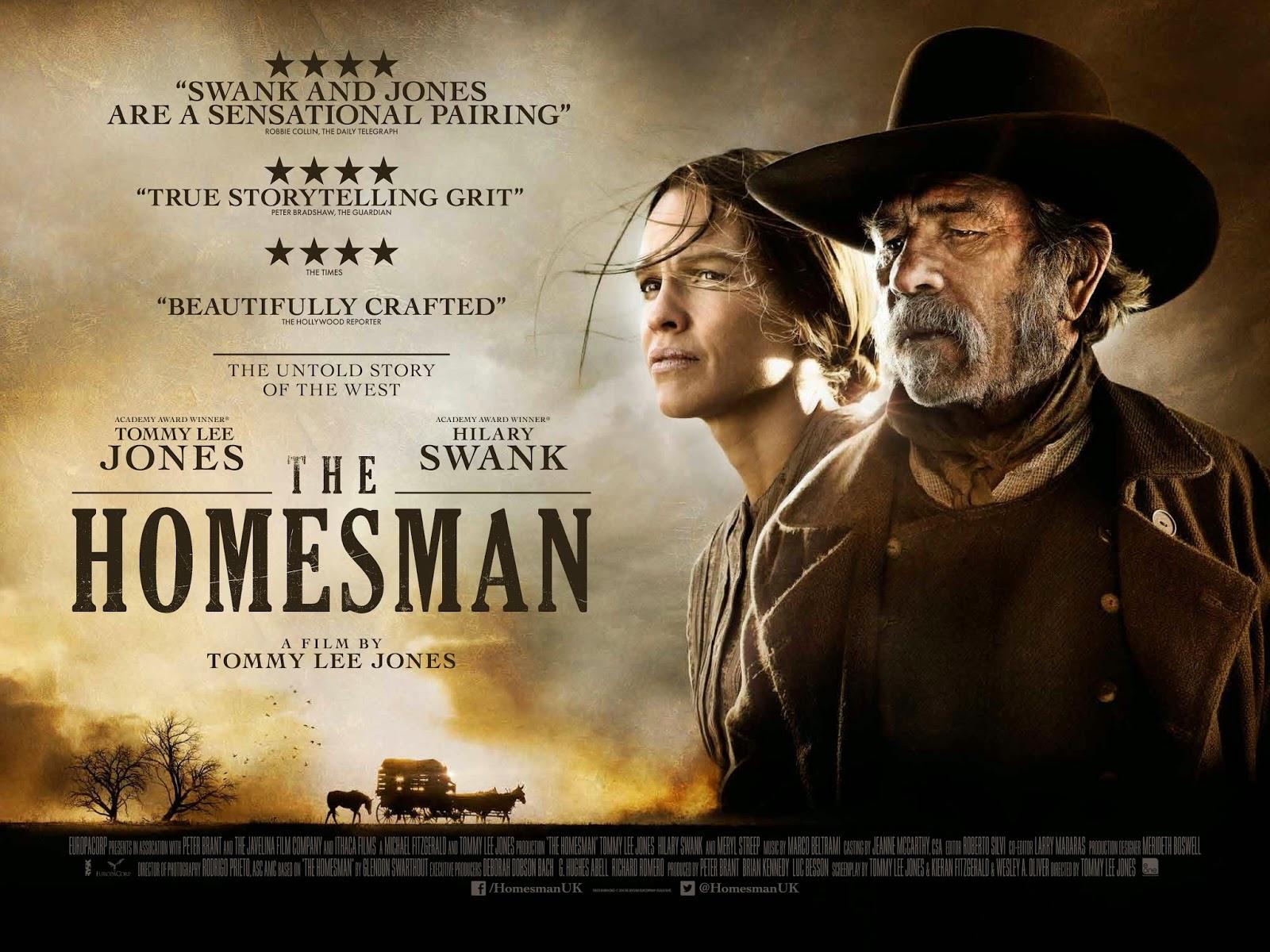 moja filmoteka blog filmowy THE HOMESMAN [2014]
