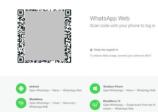 kode barcode di whatsapp website