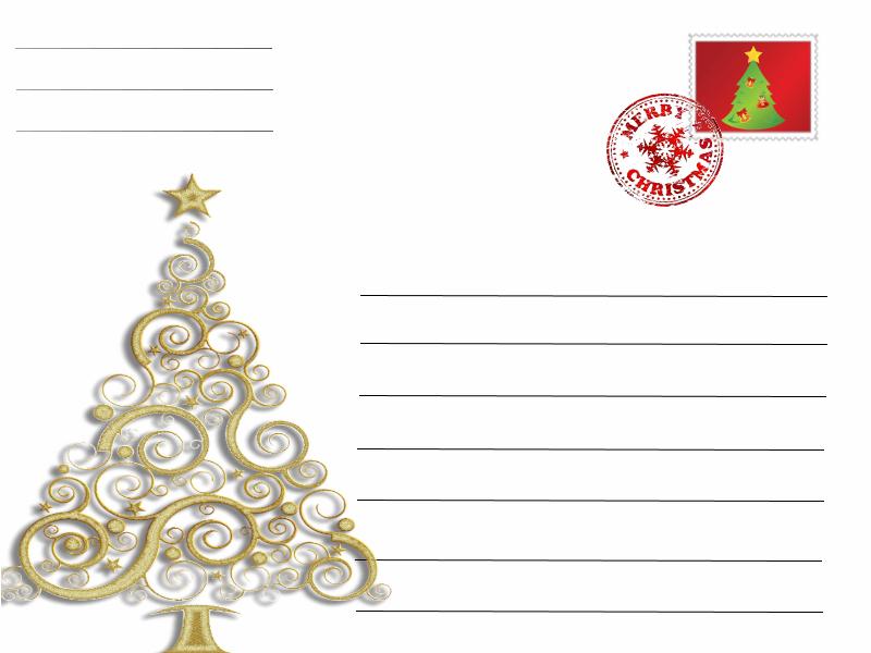 Postal Arvore Natal A