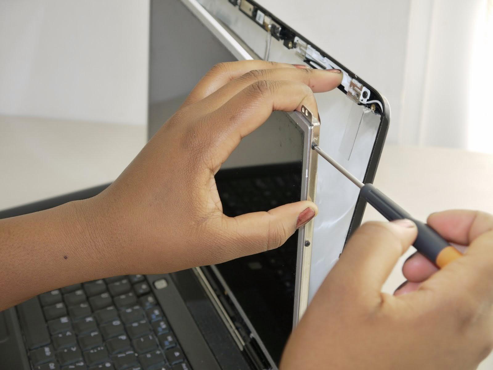 Ремонт ноутбука экран