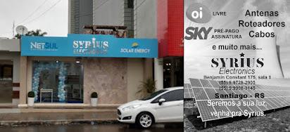 VISITE A LOJA SYRIUS EM SANTIAGO
