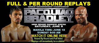 Pacquiao Vs Bradley Watch Live Online For Free