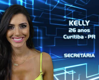 Lista de participantes do BBB 13 - Kelly - Curitiba PR - Flagras - Fotos