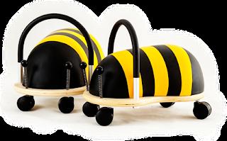 Correpassadissos abella wheely bug unisex ecològic