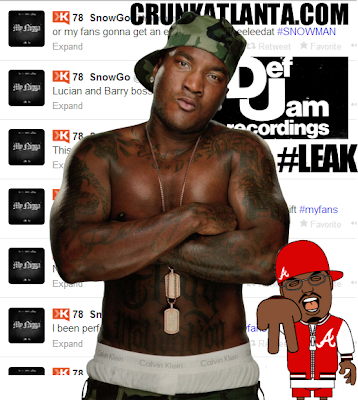 Young Jeezy Threating Def Jam about Leaking Album on Twitter