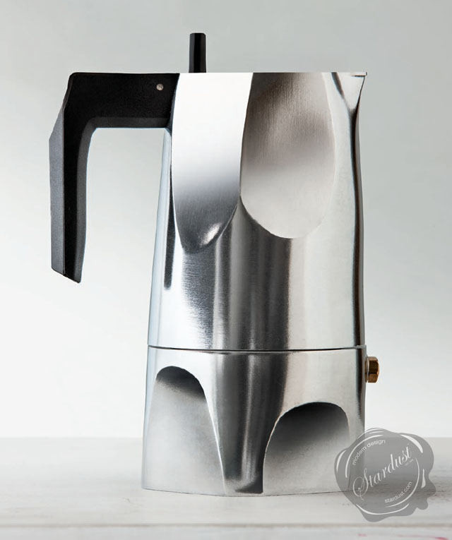 Modern Italian Coffee Maker : modern interior design: Ossidiana Coffee Maker by Alessi