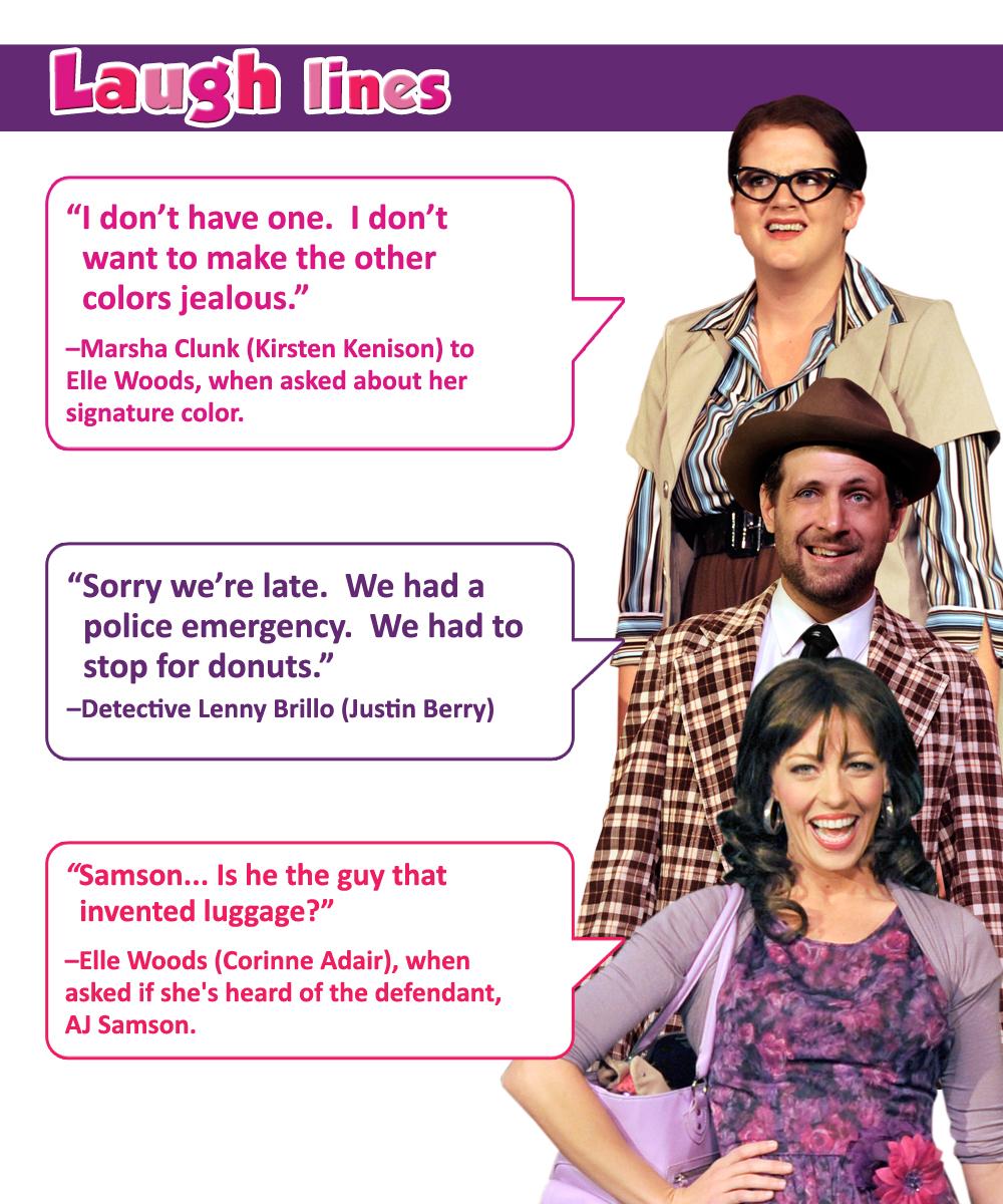 "Desert Star Playhouse: Laugh Lines from ""Legally Brunette!"""