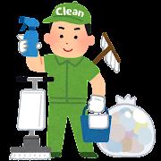 清掃業者のイラスト