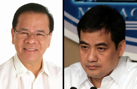 Francisco Tatad and Edwin Lacierda on the Pork Barrel Scam