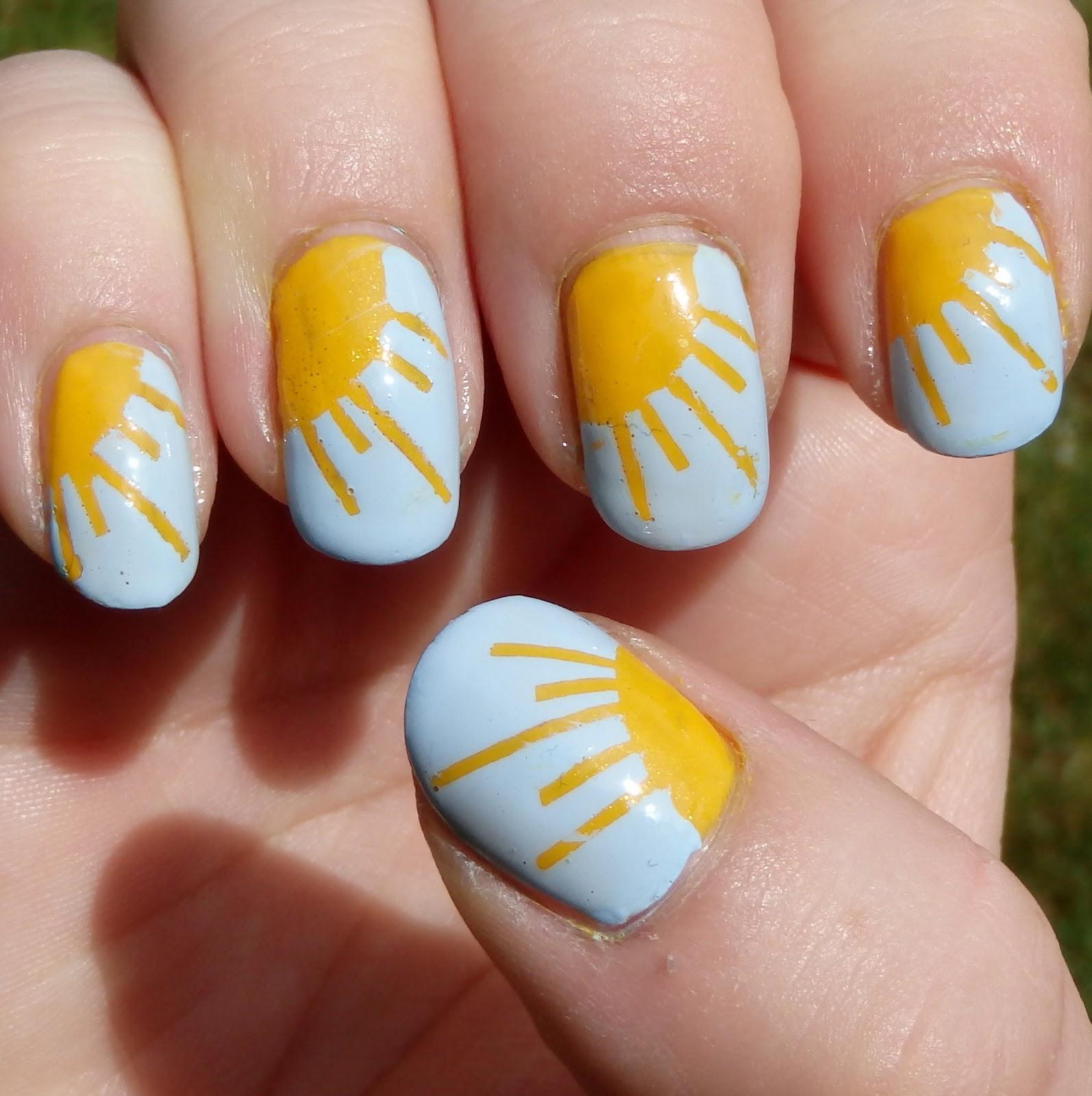 Quixiis Nails 051213 Sunshine Nails
