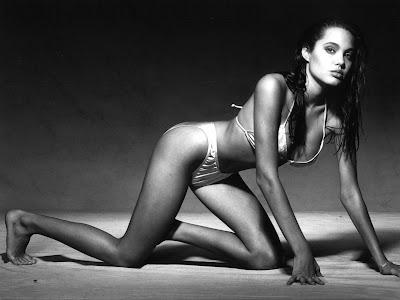 Angelina Jolie in a Bikini