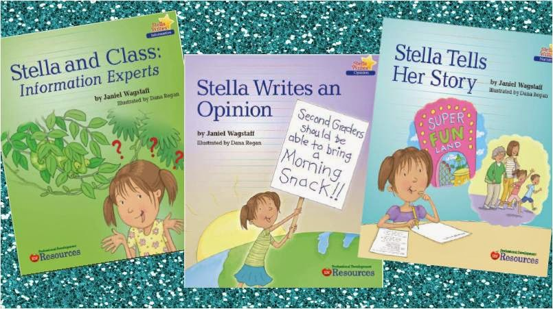 My new picture books:  Stella Writes!
