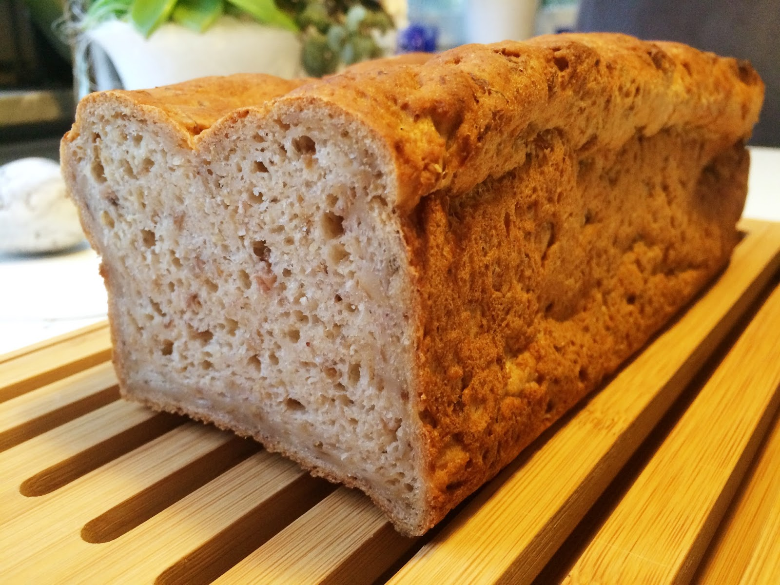 baka bröd med creme fraiche