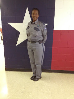 Capt. Angela Chevalier of the TDCJ Ramsey Academy.