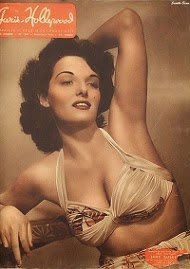 "Jane Russell, en "" The revolt of Mamie Stover"""