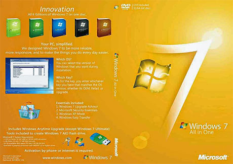 Windows 7 All-in-One ISO Free Download 32 / 64 Bit | Windows 7 All Edition ISO
