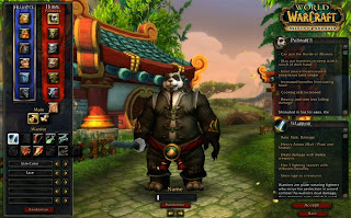 WoW Pandaren Character Creation