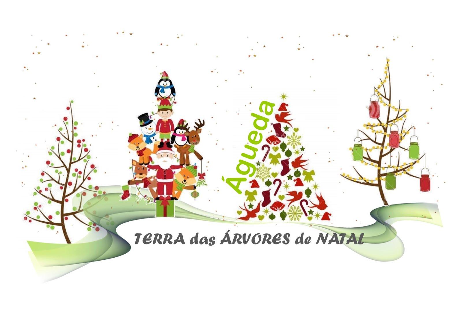 Terra Árvores de Natal