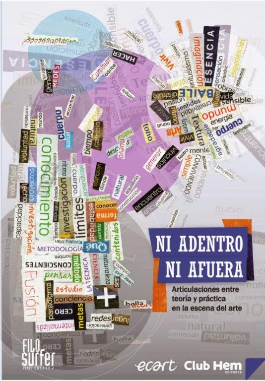 Libro: Ni adentro ni afuera. Articulaciones entre teoría y práctica en la escena del arte
