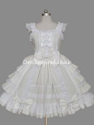 Sweet Bow and Ruffle Lolita Dress