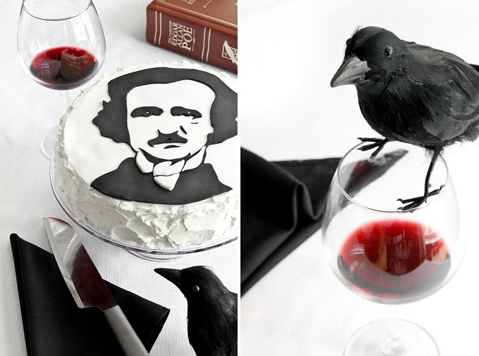 Portrait Of Poe In Waldorf Astoria Red Velvet Sprinkle Bakes