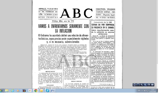 Porqué el FP proclamó la RASD el 27 de febrero de 1976
