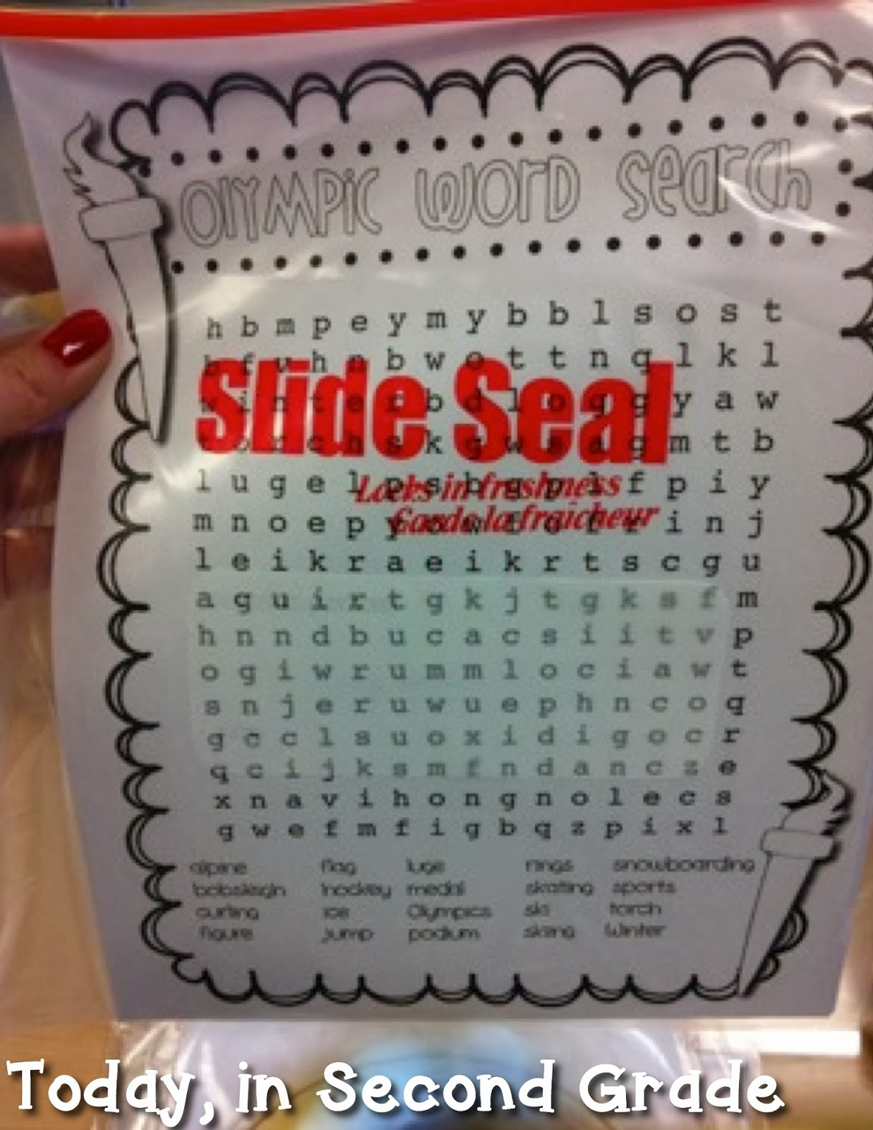 Hard Winter Word Search A crossword puzzle, word