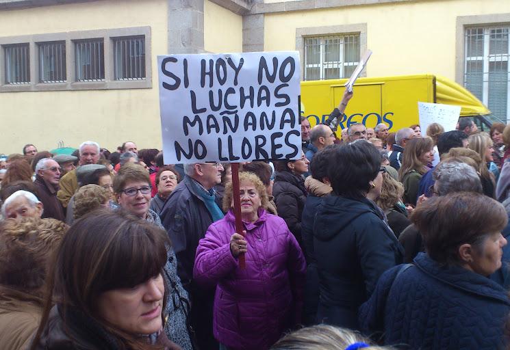 Protestas ciudanas por la defensa del Hospital Virgen del Castañar