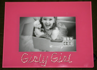 Girly Girl photo frame from Ellen