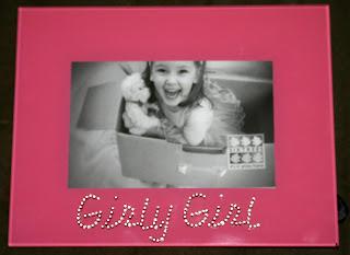 Girly Girl photo frame from Ellen