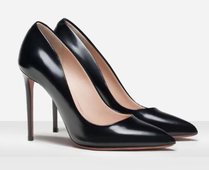 Rebajas SS 2015 complementos zapatos salón negro