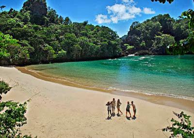 Pulau Sempu di Malang