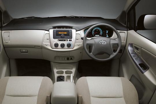 Interior Toyota New Kijang Innova Baru Tipe J E G V
