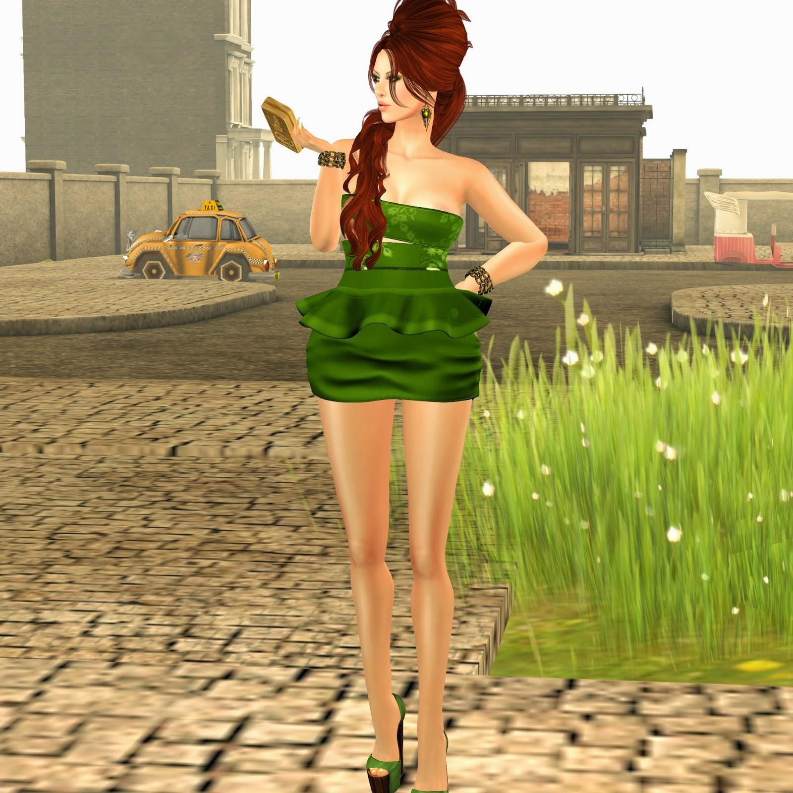miss canning simone dress,zoz spring flowers