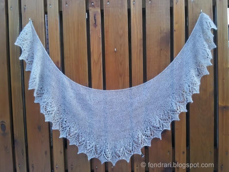 Annis shawl - lítið prjónað sjal