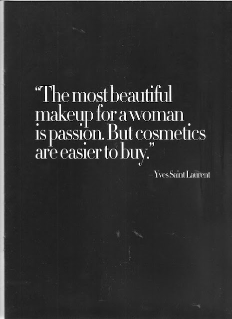 quote, Yves Saint Laurent, designer