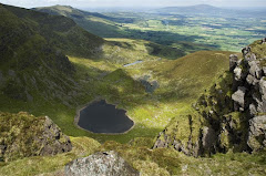 View into the Boolas from Comeragh Plateau